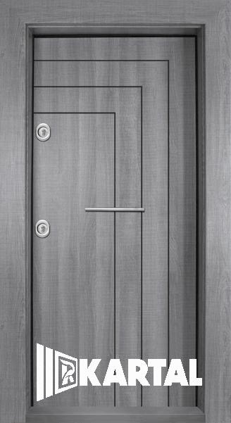 Входна врата модел Т-1002 с хоризонтална дръжка
