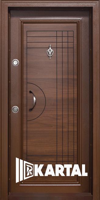 Входна врата с дръжка полумесец модел Т-305