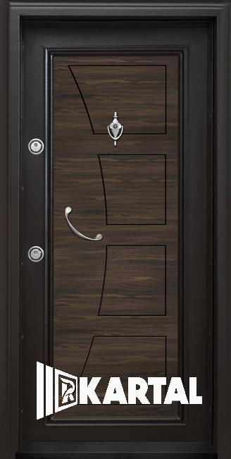 Входна врата с дръжка полумесец модел Т-369