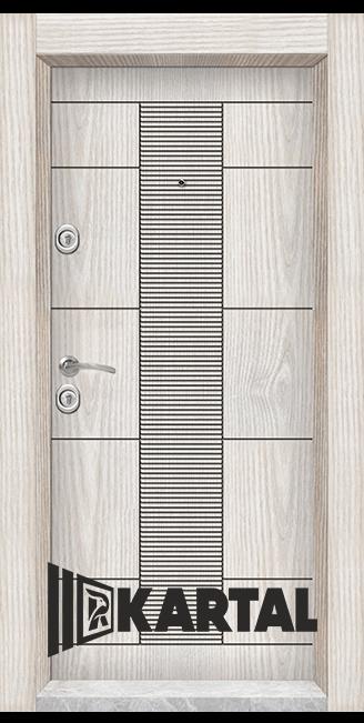 Блиндирана врата Картал модел Т-901 облечена каса
