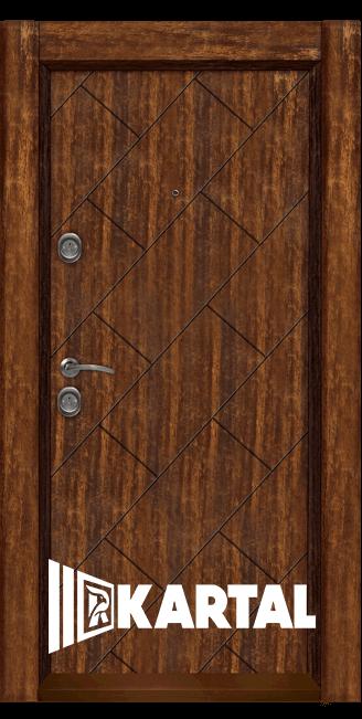 Входна врата Картал модел Т-904 облечена каса