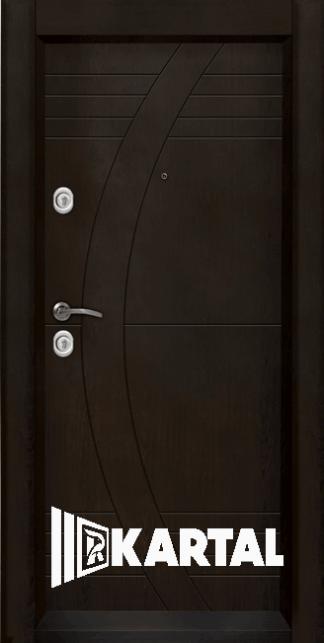 Външна врата модел Т-909 с облечена каса